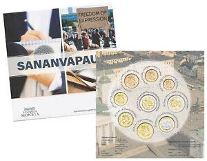 FINNLAND ORIGINAL-KMS 2021 FREIE MEINUNGSÄUSSERUNG 5,88 EURO