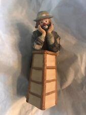Flambro Emmett Kelly Jr Miniature Collection Why Me? Clown Figurine #10004