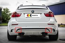 BMW NEW GENUINE X6 M E71 SERIES REAR BUMPER TOW HOOK EYE COVER KIT 7266466
