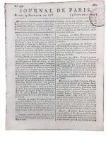Bulletin Grande Armée 1805 Murat Bataille de Marengo Rosenheim Evreux Napoléon