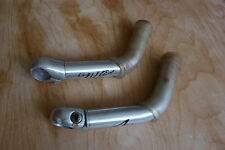 Retro bar ends ONZA mtb trekking road bicycle 227g 180 mm