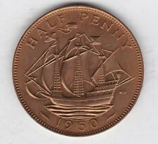 More details for proof 1950 george vi half penny in near mint condition.