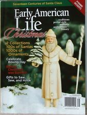 EARLY AMERICAN LIFE Christmas 17 Centuries of SANTA CLAUS Pyramid Desserts 2013