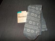 "M&S 1 Pr 100 Denier Wool Mix Thermal Tights SMALL 8-12 Hips 34-39"" GreyMix BNWT"