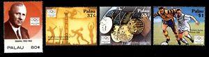 Olympic Palau 2004 set of stamps Mi#2362-65 MNH CV=6€