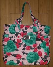 MARC BY MARC JACOBS Pretty Nylon Jerrie Rose Tate' Tote Purse Pink Floral HTF