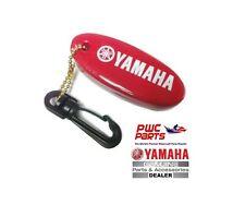 YAMAHA OEM Marine Floating Key Chain MAR-KEYCH-AI-ND Red w/ White Yamaha Logo