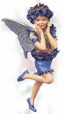 Retired Cicely Mary Barker CORNFLOWER Flower Garden Fairy Ornament Figurine NIB!