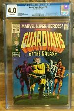Marvel Super-Heroes #18 1st Appearance of Guardians of The Galaxy CGC 4.0
