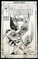 Marvel Comics Presents Wolverine #106 Sam Kieth 11x17 FRAMED Original Art Print
