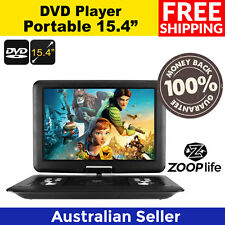 15.4-Inch Portable EVD / DVD Player - Universal Disc Support, GamePlay, FM,ebook