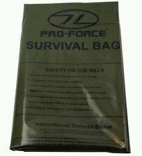 Highlander emergency survival bag (90×180cm) Olive Green