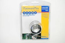Platinum Plus By Sunpak 25mm 27mm 30mm 30.5mm 37mm 2.0x lens for camcorders