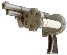Revolver Pistol Toilet Paper Holder Cowboy Ammo Gun Man Cave Bathroom Decor Part
