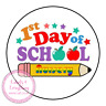 First 1st Day Back To School Nursery Reception Children Kids Sweet Cone Gift