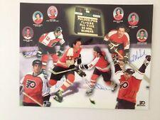 Philadelphia Flyers All Time 50 Goal Scorers Autographed Photo