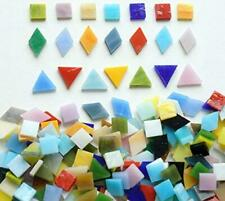 Lanyani 800 Pieces Mosaic Tiles Stained Glass - Assorted Assorted Colors