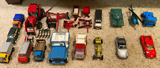 Vintage Diecast Vehicles. Mixed Size, Manufacturer, Accessories And Condition.