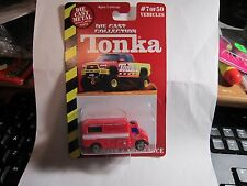 TONKA DIECAST COLLECTION VEHICLE #7/50 RESCUE 4AMBULANCE
