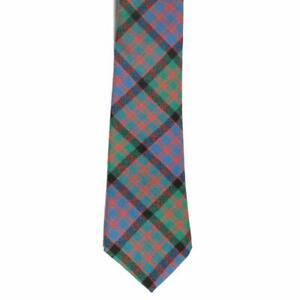 100% Wool Traditional Scottish Tartan Neck Tie - MacDonald Ancient