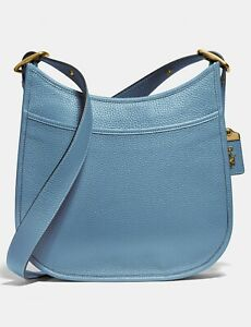 ❤️ Coach Emery Brass/Pacific Blue 88361 Crossbody In Original Packaging