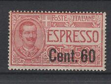 FRANCOBOLLI 1922 REGNO ESPRESSO C. 60 SU 50 MLH Z/1141