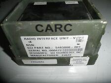 Military Radio Vehicle Sanmina TOCNET Radio Interface V  system