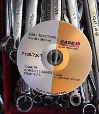 CASE IH COMBINE 2100 2300 SERIES Service Repair Manual on DVD All SN JJC