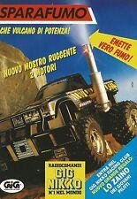 X4037 Sparafumo - GIG - Pubblicità 1992 - Advertising