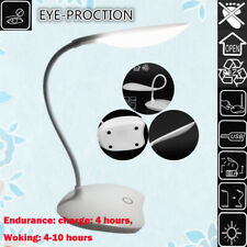 LED Table Desk Lamp Touch Lighting Office Computer Home With USB Charging Port