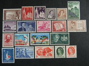 Australia Pre-Decimal Mint Selection - 1 Page