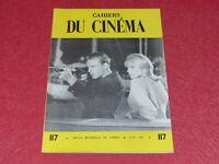 [REVUE LES CAHIERS DU CINEMA] N°117 # MARS 1961 EISENSTEIN &c... EO 1rst Print