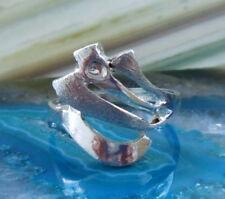 Ring Silberring Welle Band Sterling Silber 925 Größe 16,5 mm