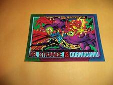 Dr. Strange vs Dormammu # 160 - 1993 Marvel Universe Series 4 Base Trading Card
