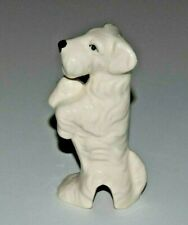 Pie Bird White Sealyham Terrier Dog Puppy Piebird Usa Made