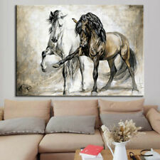 HORSE ABSTRACT CANVAS WALL ART PAINTING PICTURES HOME HANGING PICTURE DECOR