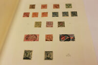 Italy Stamp Album Page