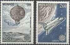 Timbres Europa Monaco 1365/6 ** lot 18812