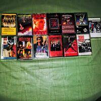 Lot 13 Cassette Tapes Hair Band Heavy Metal- Angel.Y&T.Cult.Morrisey.Crue.Femmes