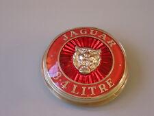 NOS JAGUAR MK2 - 3.4 motivo griglia Badge