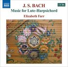 Music For Lute-Harpsichord - 2 DISC SET - J.S. Bach (2008, CD NUOVO)