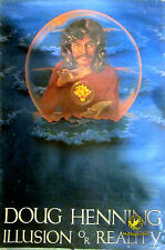 Original Doug Henning Illusion Or Reality Poster