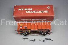 U357 KLEIN modellbahn train Ho SNCF 3283 Wagon toit coulissant Rolldachwagen Tms