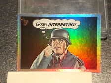 """2013 TOPPS 75TH ANNIVERSARY """"LAUGH IN"""" RAINBOW FOIL PARALLEL CARD #50"""
