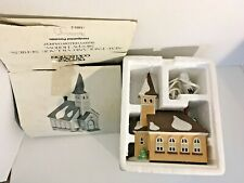 Dept 56 Sleepy Hollow Church Heritage Village New England Village Lighted 59552
