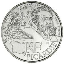 """Pièce de 10 euros des régions """"Picardie"""" 2012."""