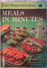 Better Homes And Gardens Meals In Minutes Hardcover Vintage 1963