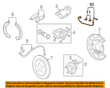 Chevrolet GM OEM 10-15 Camaro ABS Anti-lock Brakes-Rear Speed Sensor 92199862