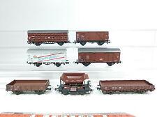 bb123-1 # 7x Roco H0 / DC Vagón de mercancía DB : Fürstenberg + transporte