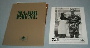 1995 MAJOR PAYNE PRESS KIT w 3 PHOTOS & SLIDES DAMON WAYANS MILITARY COMEDY